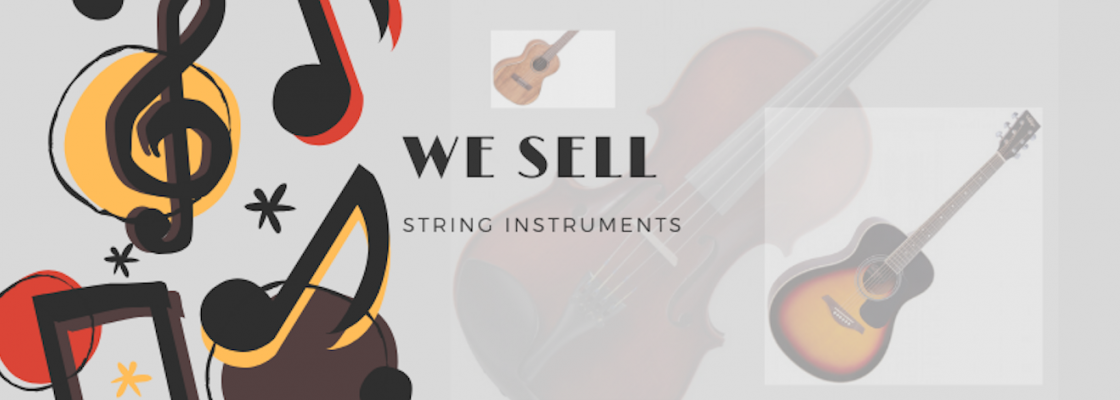 we sell string instruments
