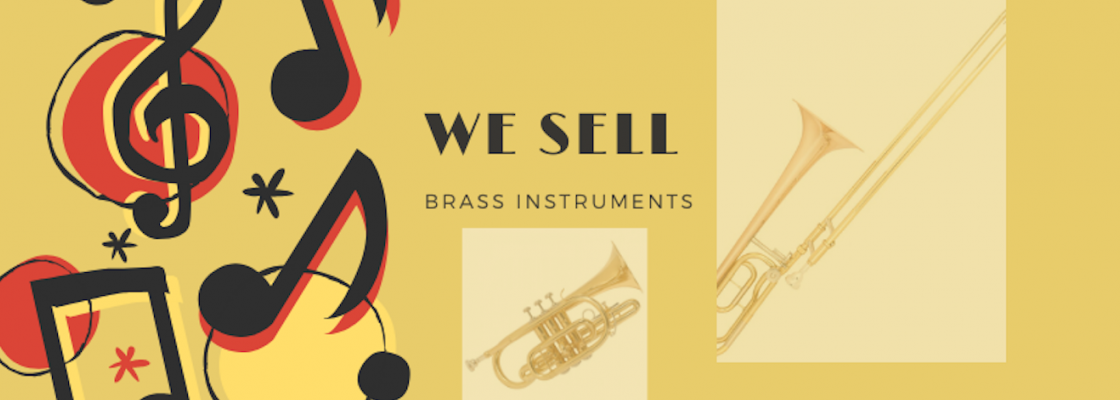 we sell brass instruments