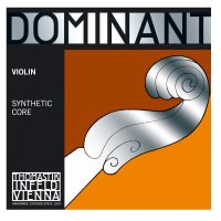 Thomastik Dominant 4/4 Violin String Set, Strong Tension