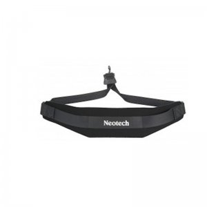 Neotech Soft Saxophone Strap ,  Black With Metal Hook