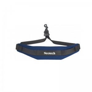 Neotech Soft Saxophone Strap,  Blue With Swivel Hook