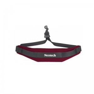 Neotech Soft Saxophone  Strap,  Wine With Swivel Hook