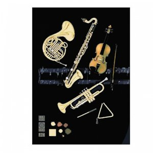 M058 Orchestral Greeting Card