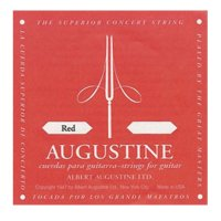 Augustine  Classic Red ,  Classical Guitar Strings, Medium Tension