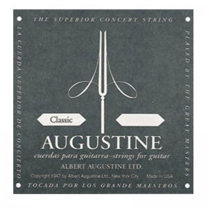 Augustine Classic Black, Low Tension Classical Guitar Strings