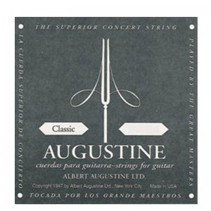 Augustine Classic Black  Single Classical Strings, Low Tension