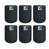 BG A10L Large Black .8mm Mouthpiece Cushions