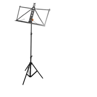 Bespeco BP1C  Music Stand Black,  with bag