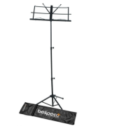 Bespeco BP01X Steel Music Stand, Black