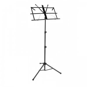 Boston MS50BK Black Music Stand With Bag