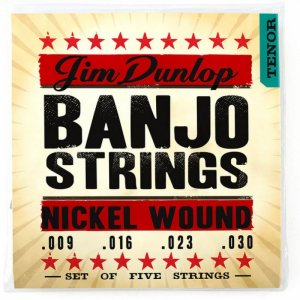 Jim Dunlop DJN0930 Nickel Wound Tenor Banjo Strings,