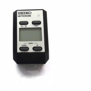 Seiko DM51S Silver Digital Clip-on  Metronome