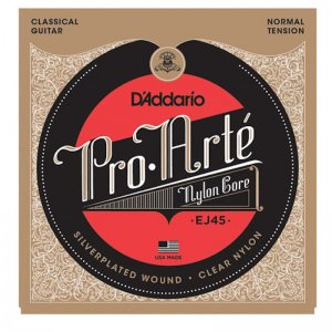 DAddario Pro Arte EJ45  Silver Plated Classical Strings, Normal Tension