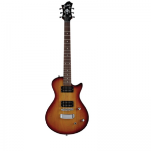Hagstrom Ultra Swede ESN Electric Guitar, Tobacco