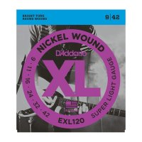D'Addario EXL120 Electric guitar strings super light, 9-42