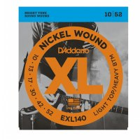 D'addario EXL140 Electric Guitar Strings Light top, heavy bottom, 10-46