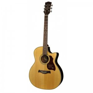 Richwood G-65-CEVA Handmade  Grand Auditorium Guitar, Cutaway, Solid Spruce And Rosewood
