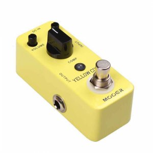 Mooer MCS2 Yellow Comp, Optical Compression Guitar Pedal