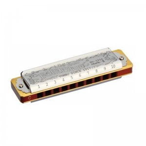 Tombo Folk Blues Mark II Harmonica in C