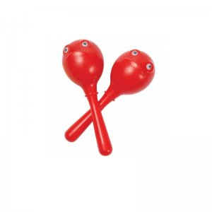 PP World red frog maracas