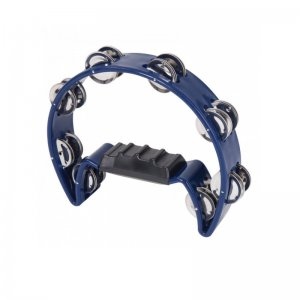 PP World, 8.5'' Half Moon, Blue Tambourine (PP4012)