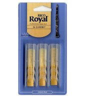 Rico Royal Bb Clarinet reeds (pack 3), strength 1.5