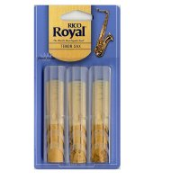 Rico Royal, Tenor Sax Reeds, (pack 3) strength 1.5