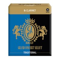 Rico Grand Concert Select Bb Clarinet Reeds, Strength 2.5