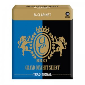 Rico Grand Concert Select Bb Clarinet reeds , box of 10