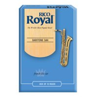 Rico Royal Baritone Sax Reeds, (box 10) strength 2