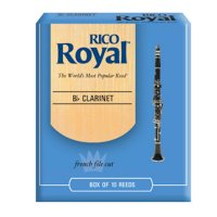 Rico Royal Bb Clarinet reeds,  (box 10) Strength 2