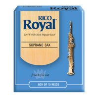 Rico Royal Soprano Sax Reeds , (box 10) Strength 2.5