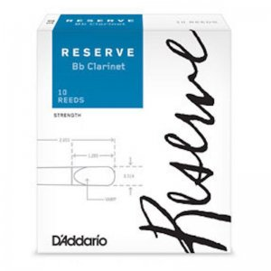 D'Addario Reserve Bb Clarinet Reeds , box of 10