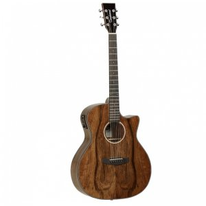 Tanglewood TVCXPW Evolution Exotic Pacific Walnut EQ Venetian Cutaway Guitar