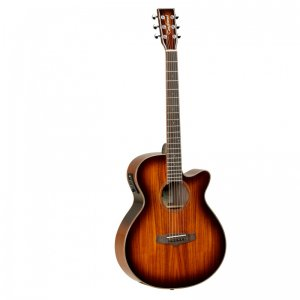 Tanglewood TW4KOA Winterleaf Exotic Superfolk cutaway Guitar