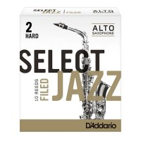 D'Addario Select Jazz, Alto Sax Filed, Box 10, Strength 2 Hard