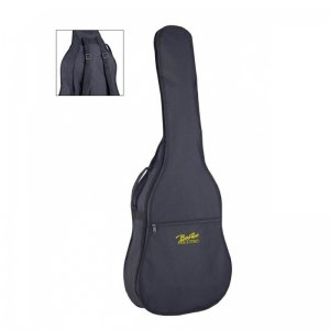 Boston K-06, 6mm Black Padded 4/4 Classical Guitar Bag