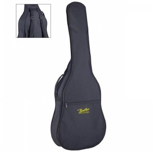 Boston W-06, 6mm Black Padded Acoustic Guitar Bag