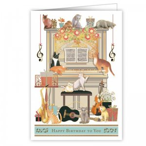 Quire 3316 Cats on Piano