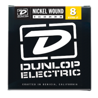 Dunlop Electric Guitar Strings, Nickel wound  8- 38