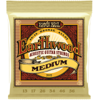 Ernie Ball Earthwood 2002 80/20 Bronze Acoustic Guitar Strings  Medium   13'S