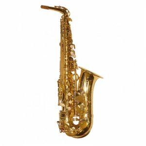 Elkhart 100AS Eb Lacquered Student Eb Alto Saxophone