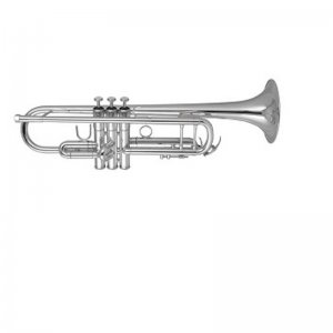 Elkhart 100TR Student Silver Plated Bb Trumpet