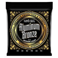 Ernie Ball 2570 Aluminium Bronze Acoustic Guitar Strings,Extra Light