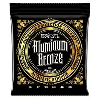Ernie Ball 2564 Aluminium Bronze Acoustic Guitar Strings, Medium