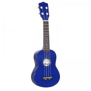 Blue Moon Soprano Ukulele (Blue)