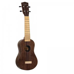 Ashbury (GR35051) Black Walnut Soprano Ukulele