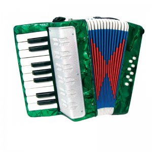 Scarlatti Child's Green Piano Accordion