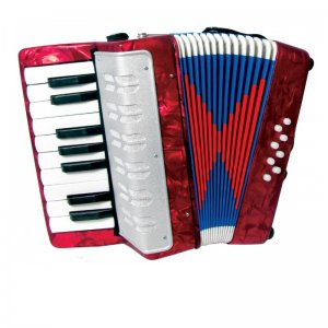 Scarlatti Child's Red Piano Accordion