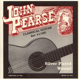 John Pearse  Silver Plated Wound Classical Guitar set